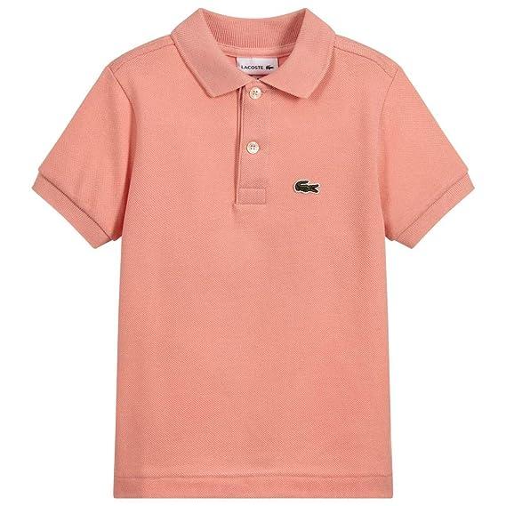 Lacoste - Polo - para niño Rosa Elf Pink 1 años: Amazon.es: Ropa y ...