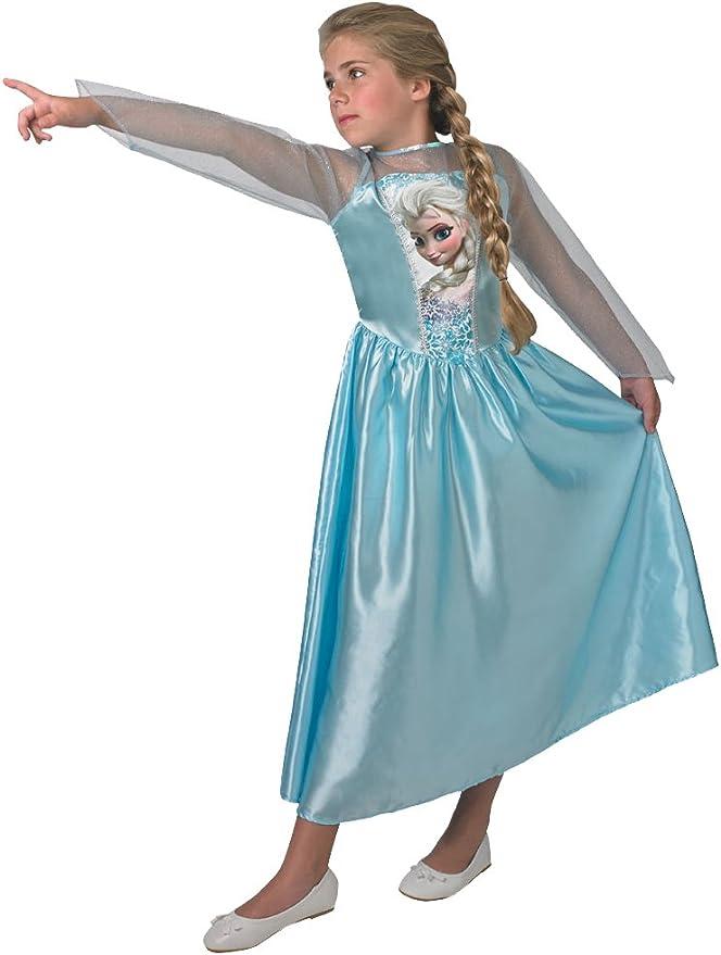 Rubies - Disfraz Oficial de Elsa de Frozen, para niños de 11 a 12 ...