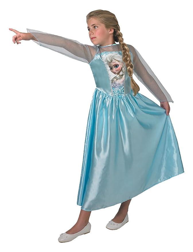 Rubies s oficial Frozen - Elsa, los niños de niña - 11 - 12 años: Amazon.es: Juguetes y juegos