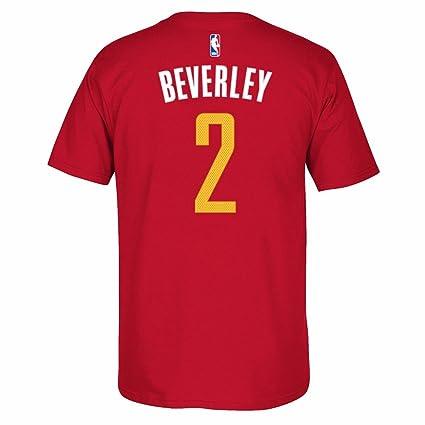 premium selection 76ecb 3de2e Amazon.com : adidas Patrick Beverley Houston Rockets NBA Red ...