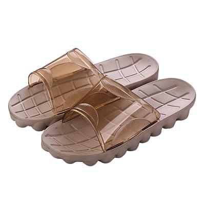 Auspicious beginning Adultos ducha cómodo antideslizante zapatillas sandalias de playa piscina