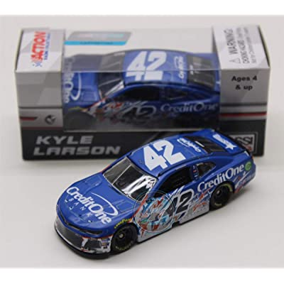 Lionel Racing Kyle Larson 2020 Credit One Bank Stripe Chicagoland Raced Version 1:64: Toys & Games