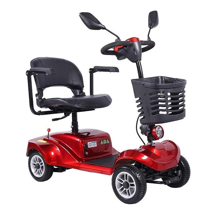 Sillas de Movilidad Eléctrica, Scooter Eléctrico de 4 Ruedas para ...