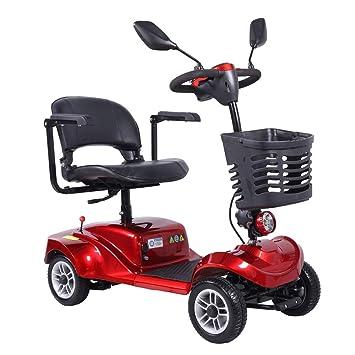 4 Ruedas Scooter de Movilidad Plegable - Scooters Eléctricos para ...
