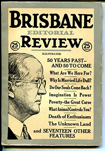 Brisbane Editorial Review #1 4/1922-1st issue-