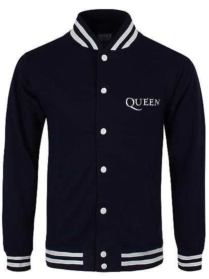 Queen - Chaqueta - para hombre negro negro L (hombres 101,6 cm-