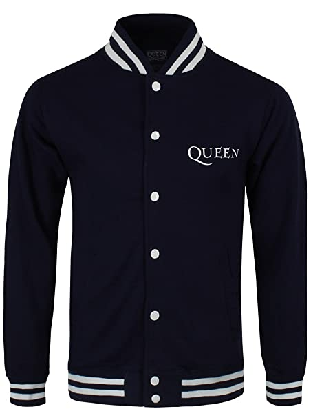 Queen - Chaqueta - para hombre negro negro L (hombres 101, 6 ...