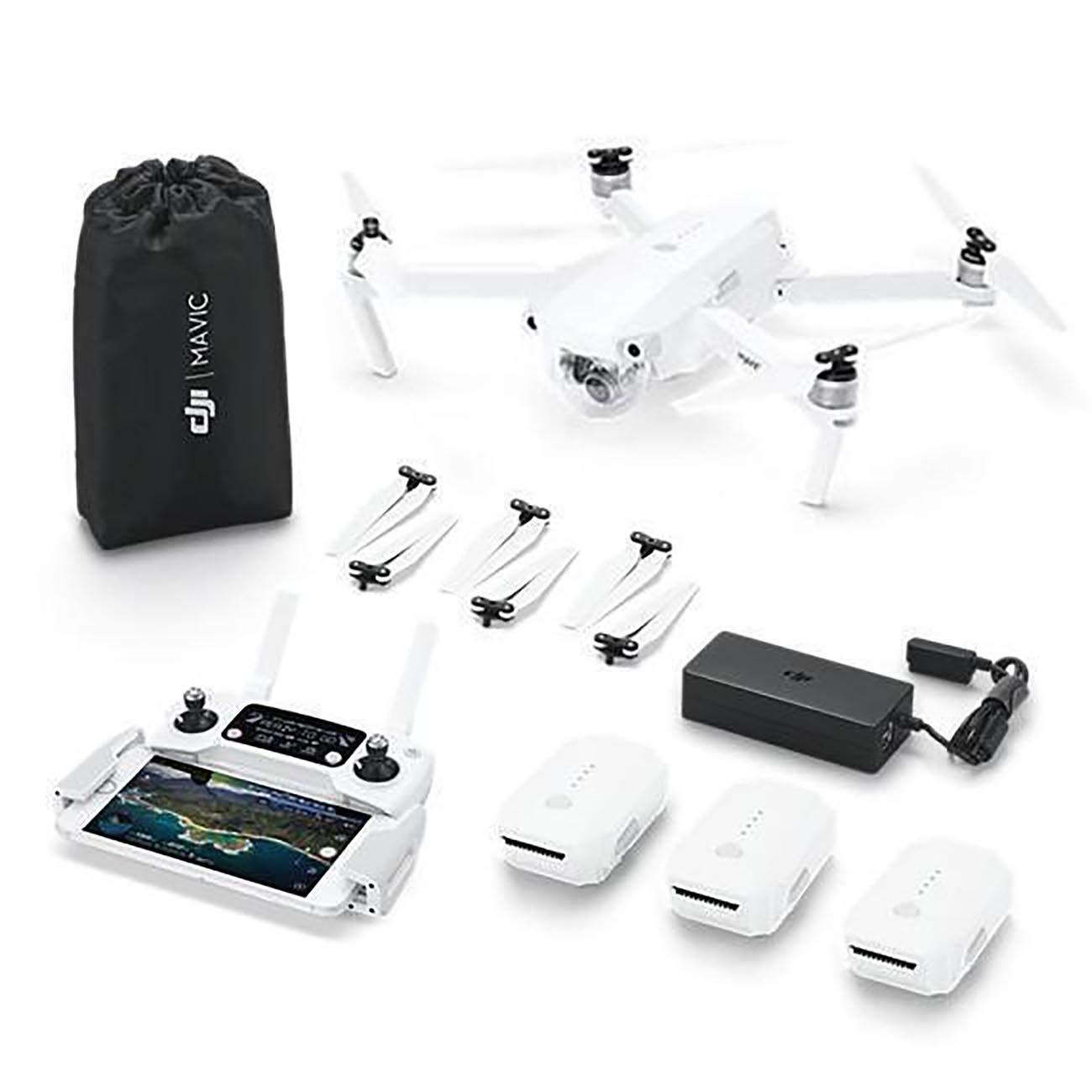DJI Mavic Pro Alpine Combo - Dron 4k Full HD con Control Remoto ...