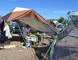 Amazon Com Coleman 13 X 13 Instant Eaved Shelter Sun
