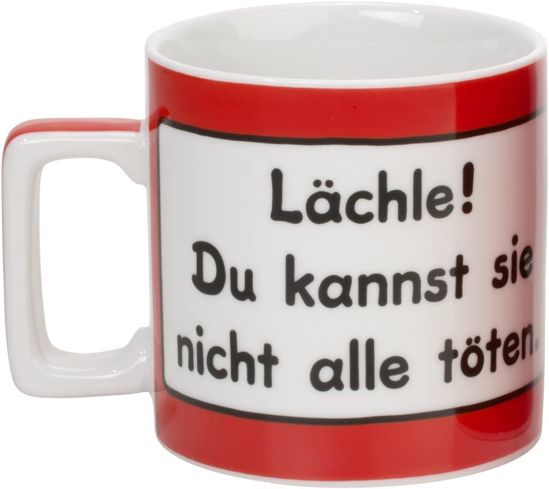 Witzige Sheepworld Wortheld Tasse KRONE groß Kaffeetasse Kaffeebecher Geschenk
