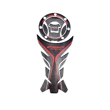 pro-kodaskin 3d impresión Gas Cap Pad adhesivo protección del depósito de combustible para Honda CBF1000 CB1000 F rojo color: Amazon.es: Coche y moto