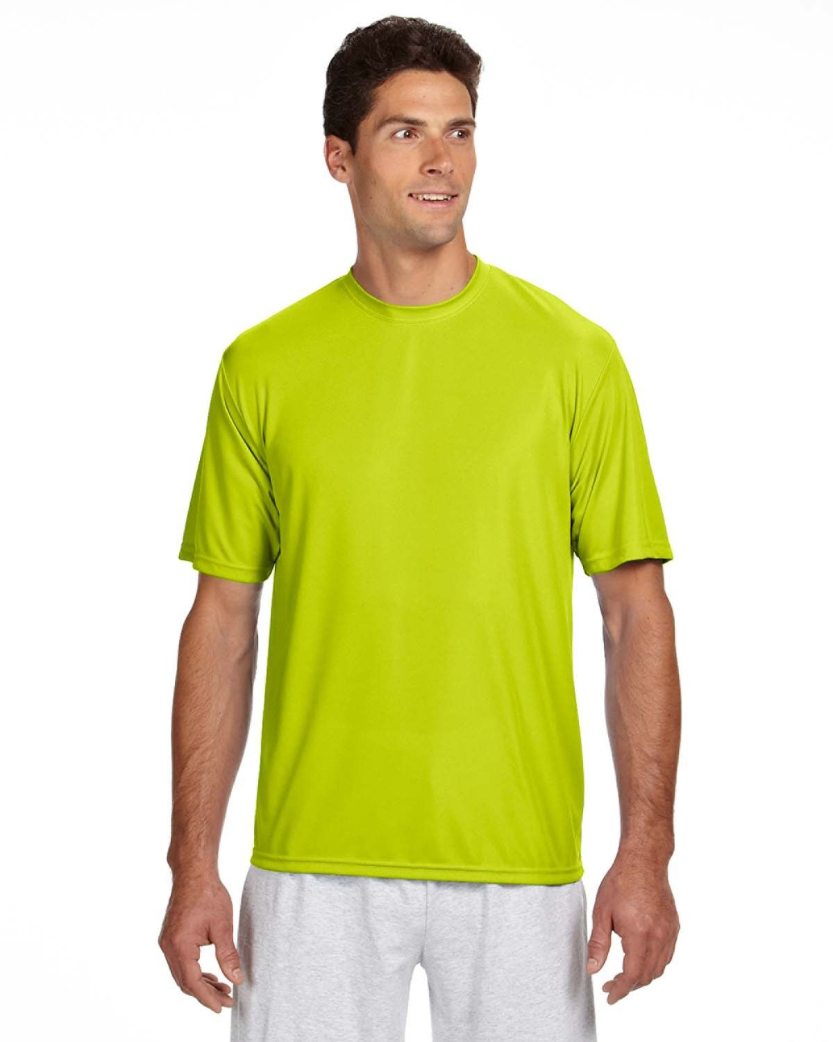 A4 Adult Cooling Performance T-Shirt, Sfty Yellow, XX-Large