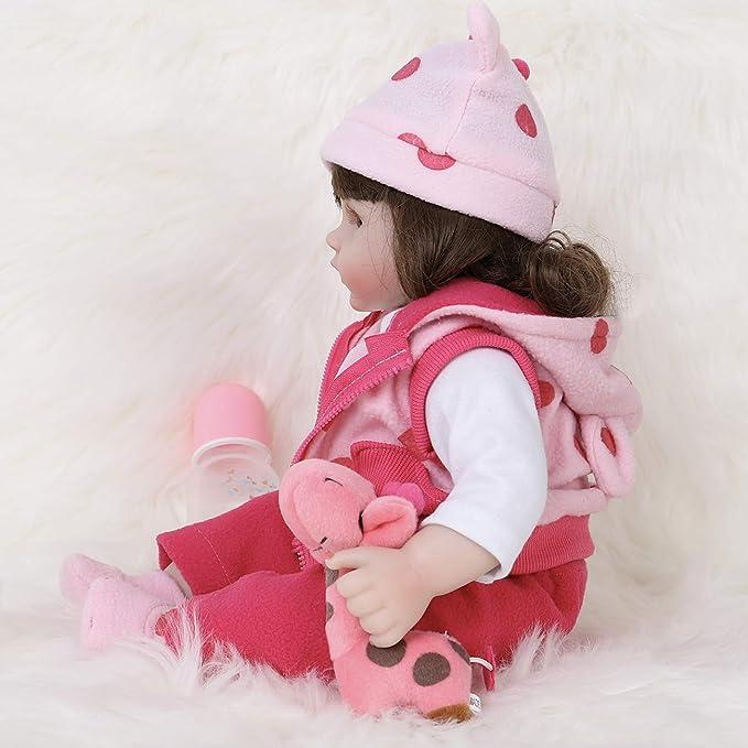 Amazon.com: Ena Reborn Baby Doll realista de silicona vinilo ...