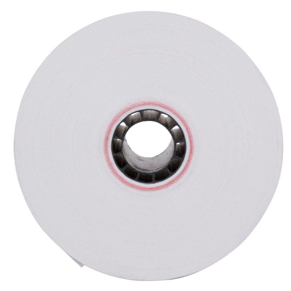 BPA Free Made in USA From BuyRegisterRolls. 50 Rolls T77TH 3-1//8 x 230 Thermal Paper Rolls Hypercom T77-T