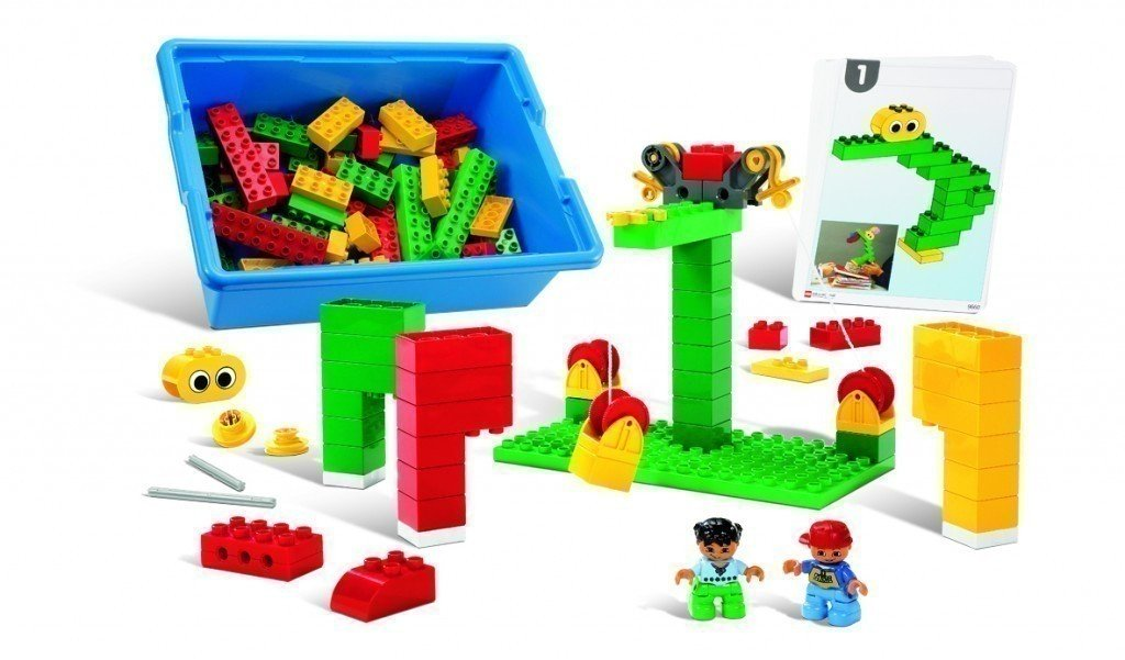 LEGO DUPLO Frühe Konstruktionen 9660 - 107 Elemente für für für Kinder ab 5 Jahren! 78cb39