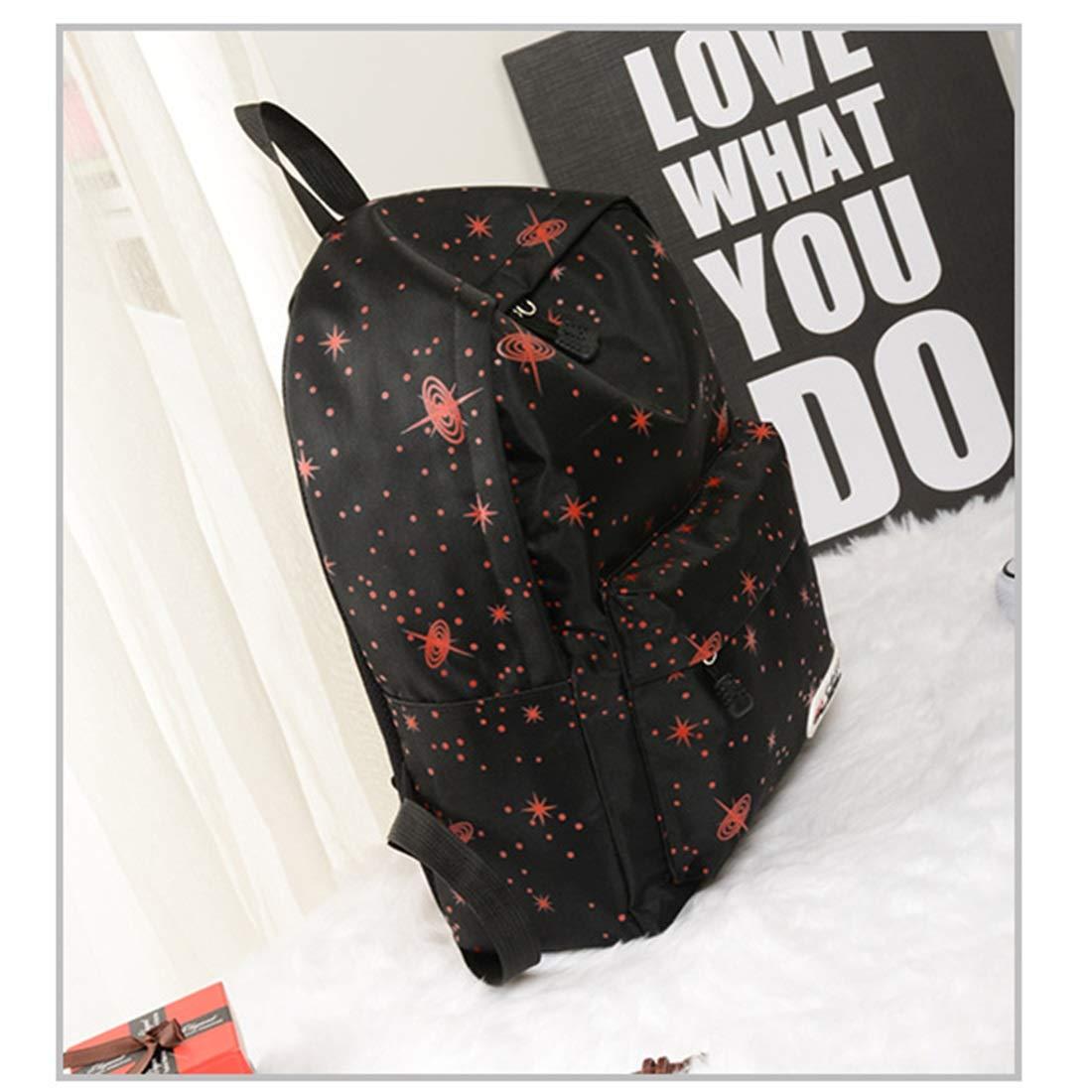 MAGAI Ladies Popularity Leichte große große große Kapazität Rucksack Kosmos Weltraum Star Bag Commuter School (Farbe   rot) B07KXQ4B95 Umhngetaschen Neue Produkte im Jahr 2018 38e7af