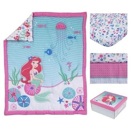 Juego de cama de 4 piezas, diseño de Ariel Crib, color blanco, rojo ...