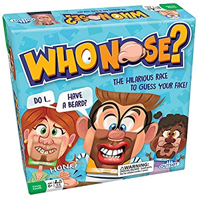Who Nose Family Guessing Game: Try To Guess Which Of The 38 Different Faces You Have On - Ages 6+: Toys & Games