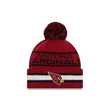 1de9bc4ac9f Amazon.com   New Era Arizona Cardinals Vintage Select Pom Knit ...