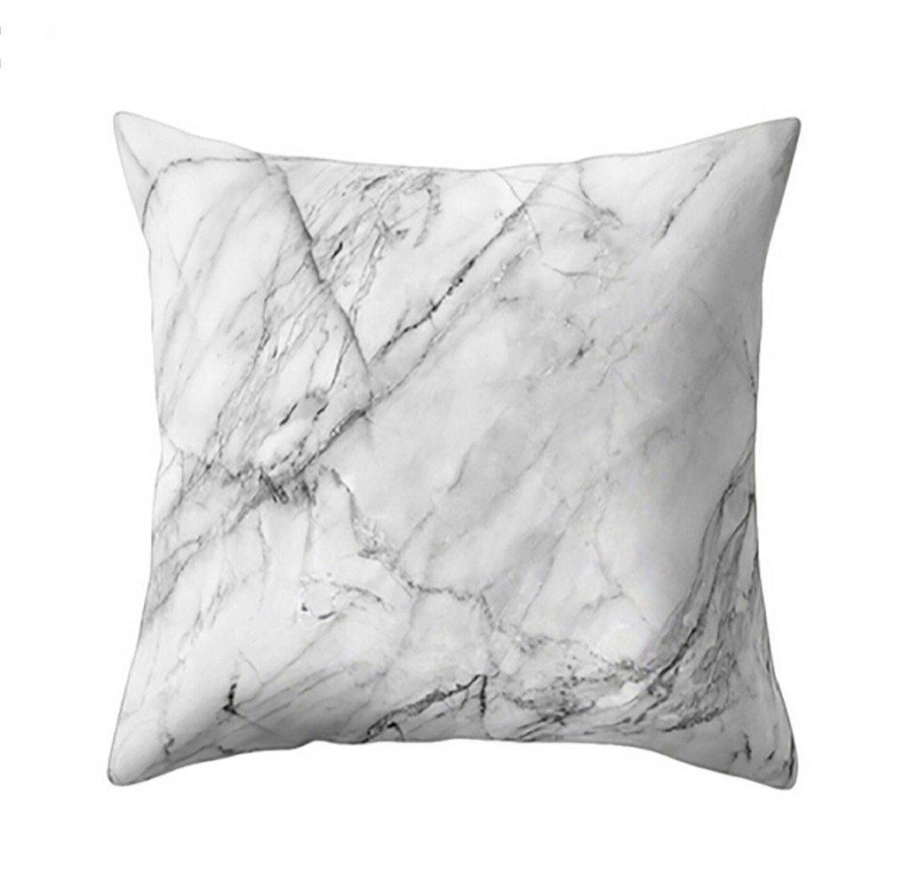 Cojín, resplend geométrico mármol textura Cojín cuadrado ...