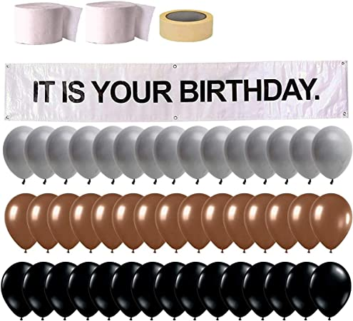 It is Your Birthday Banner, The Office Dwight Theme  Husband Birthday Party Decorations