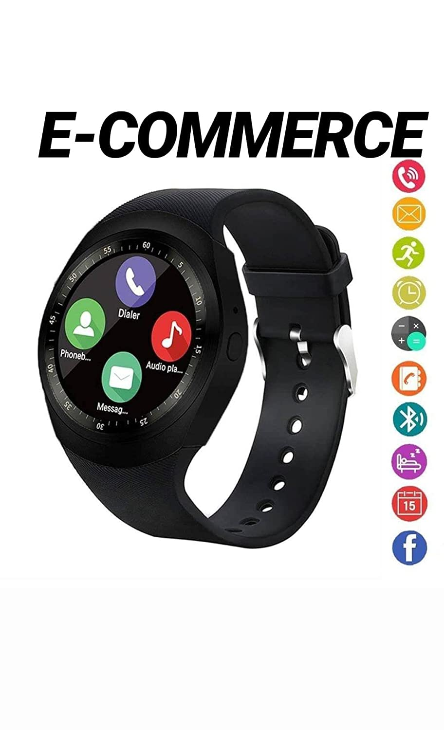mart Watch Bluetooth SmartWatch, Waterproof Smart Wrist ...