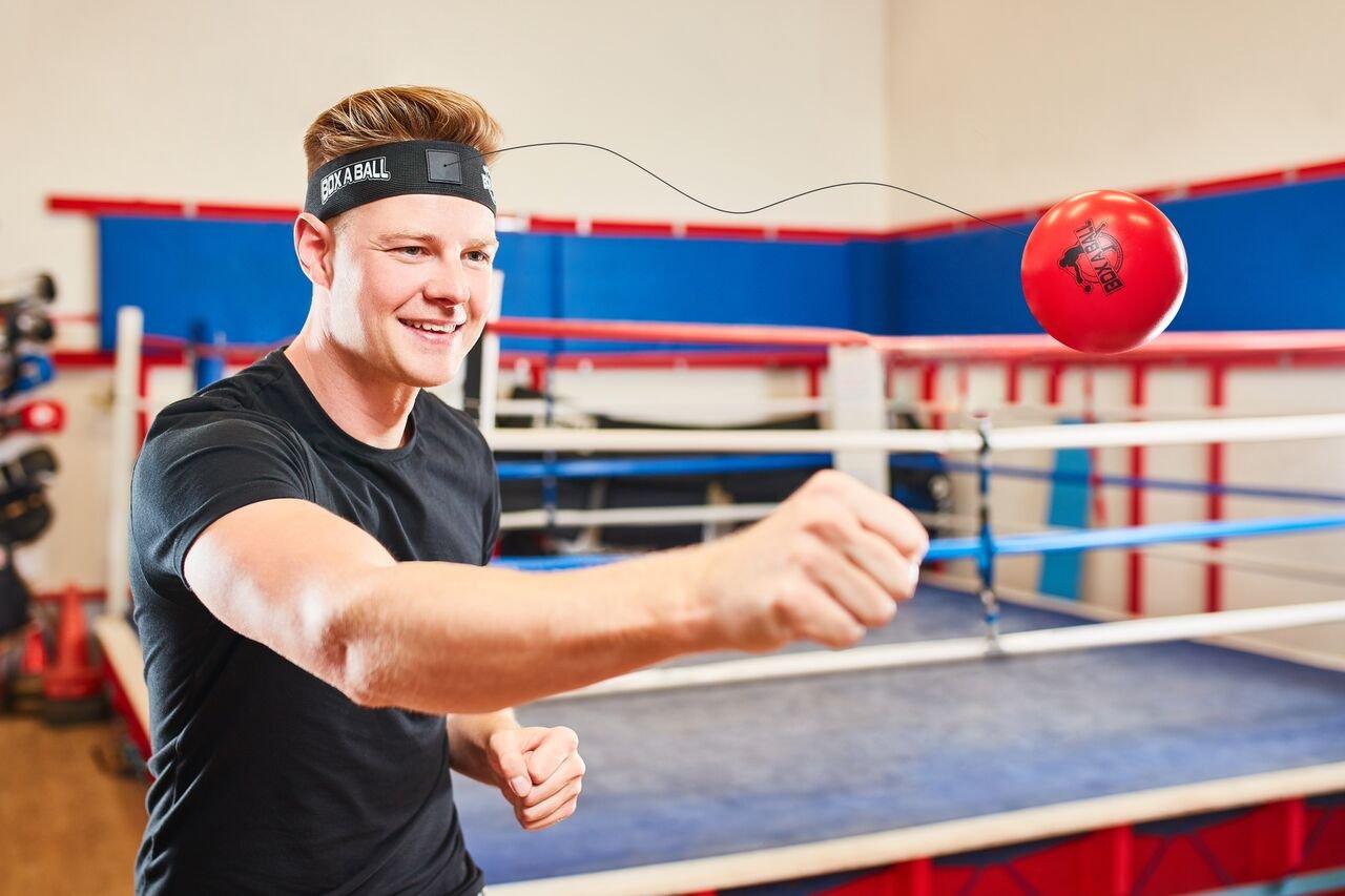 Boxeo Reflex bola Ideal para formación a mejorar las reacciones y velocidad, boxaball boxeo gimnasio equipo Super para entrenamiento y Fitness
