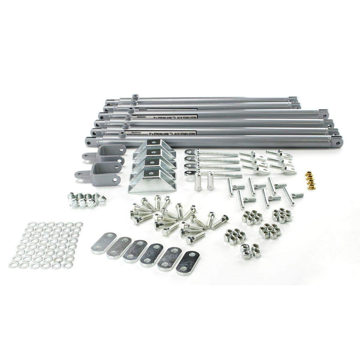 Lippert Components 191024 JT's Strong Arm Fifth-Wheel Jack Stabilizer Kit