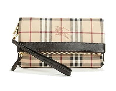db78b486af48 Burberry Haymarket Adeline Foldable Wristlet  Handbags  Amazon.com