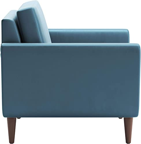 Zuo Mirabelle Arm Chair, Teal