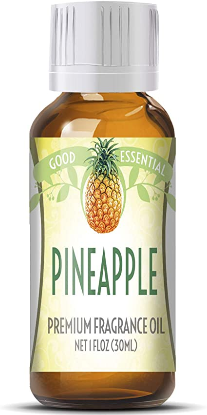 Amazon Com Pineapple Scented Oil By Good Essential Huge 1oz Bottle Premium Grade Fragrance Oil Perfect For Aromatherapy Soaps Candles Slime Lotions And More Health Personal Care