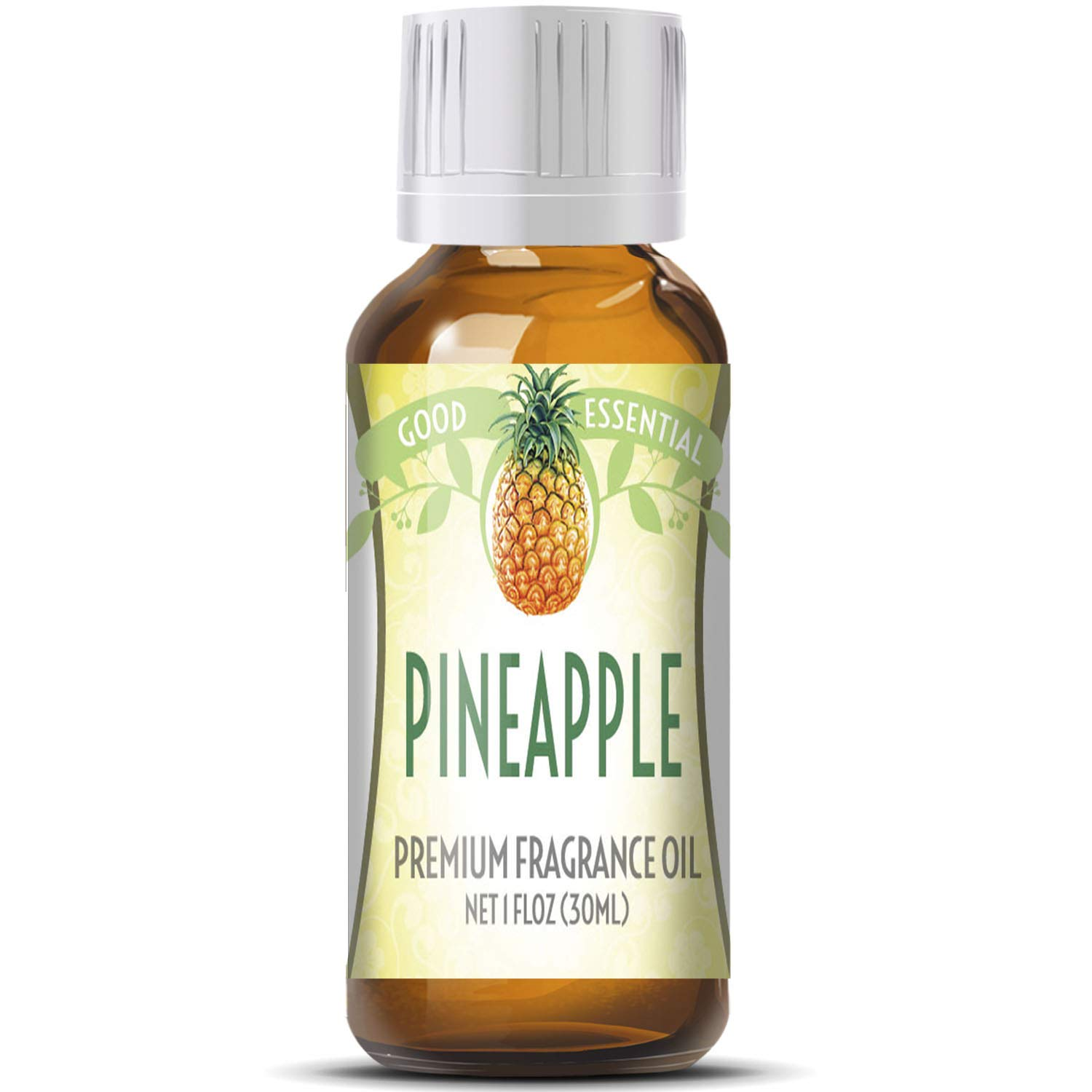 Pineapple Scented Oil by Good Essential (Huge 1oz Bottle - Premium Grade Fragrance Oil) - Perfect for Aromatherapy, Soaps, Candles, Slime, Lotions, and More!
