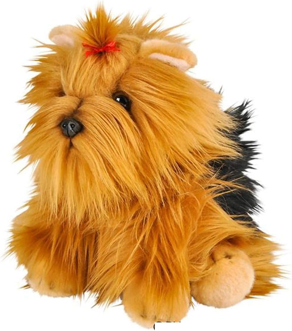 "Tribello 12"" Yorkshire Terrier Stuffed Animal Yorkie Plush Toy Dog"