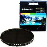 Filtro ottico a densità neutra (Neutral density, ND) da 82 mm ad alta definizione della Polaroid rivestito da diversi strati che garantiscono l'attenuazione di diverse gamme di colore (ND3, ND6, ND9, ND16, ND32, ND400): 6 filtri in 1!