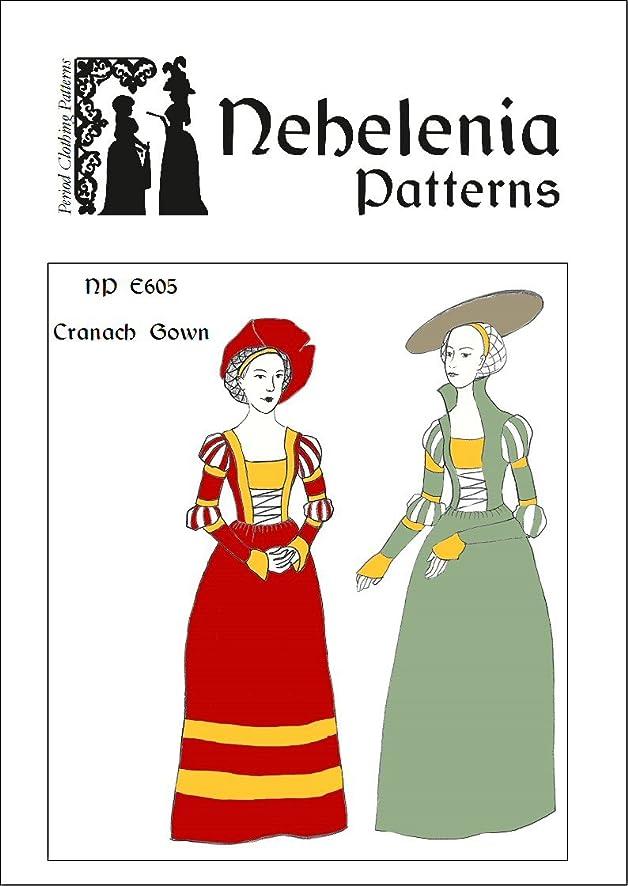 Amazon.com: German Renaissance Cranach Gown Pattern 1510-1550