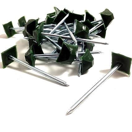 500, enebro verde embellecedores tapas para tornillos - ONDULINE, COROLUX
