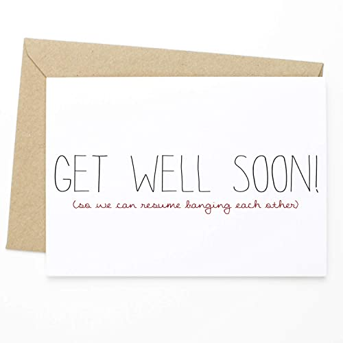 Amazoncom Funny Get Well Card Get Well Soon Funny Greeting