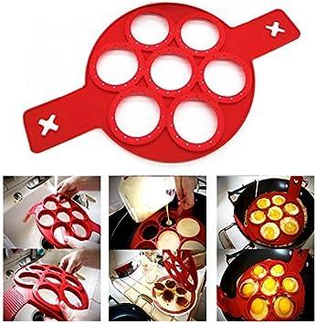 Itian para fácil panqueque rápido y cocina de huevo, Moldes de ...
