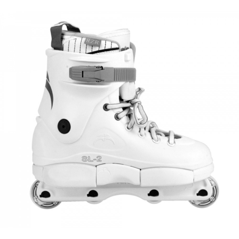 Razors SL 2 カミソリホワイトスケート Aggressive Skates B07BZLZ3RD 12US / 11UK / 46EU