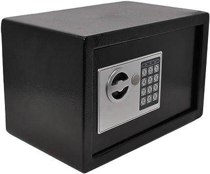 Safe Mit Elektronik Zahlenschloß Und Schlüssel Tresor Anti Bounce Baumarkt