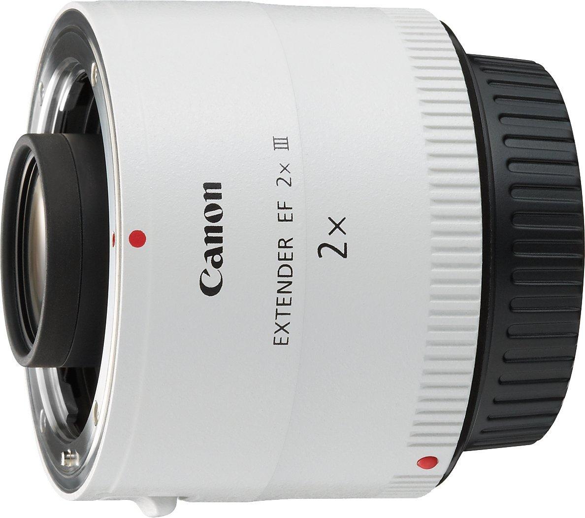 Canon EF x III Adaptador para objetivos de cámaras Canon EF color
