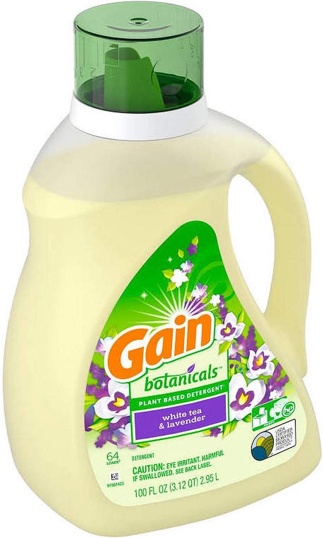 Gain Botanicals White Tea Lavender Liquid Fabric Softener - 103oz
