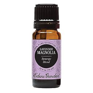 Edens Garden Lavender Magnolia Essential Oil Synergy Blend, 100% Pure Therapeutic Grade (Massage & Stress) 10 ml
