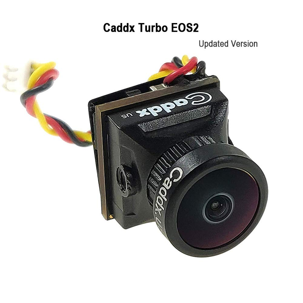 Caddx FPV Camera Newest Turbo EOS2 Mini FPV Action Camera 1200TVL FOV 160° Wide Angle 1/3'' CMOS 16:9 for FPV Quadcopter Racing Drone by Caddx