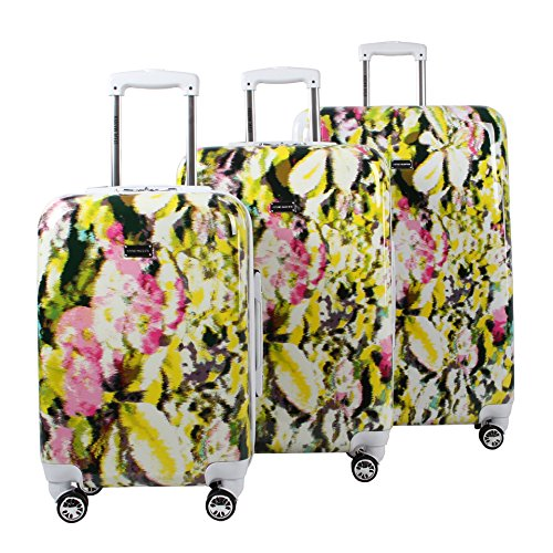 Steve Madden Luggage 3 Piece Hard Case Suitcase Set With Spinner Wheels...