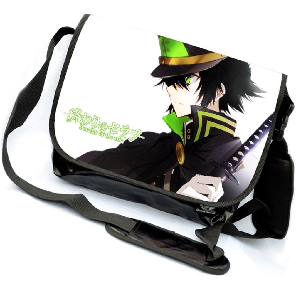 YOYOSHome Anime終わりのセラフコスプレメッセンジャーバッグショルダーバッグクロスボディバックパックスクールバッグ   B071XW1CRW