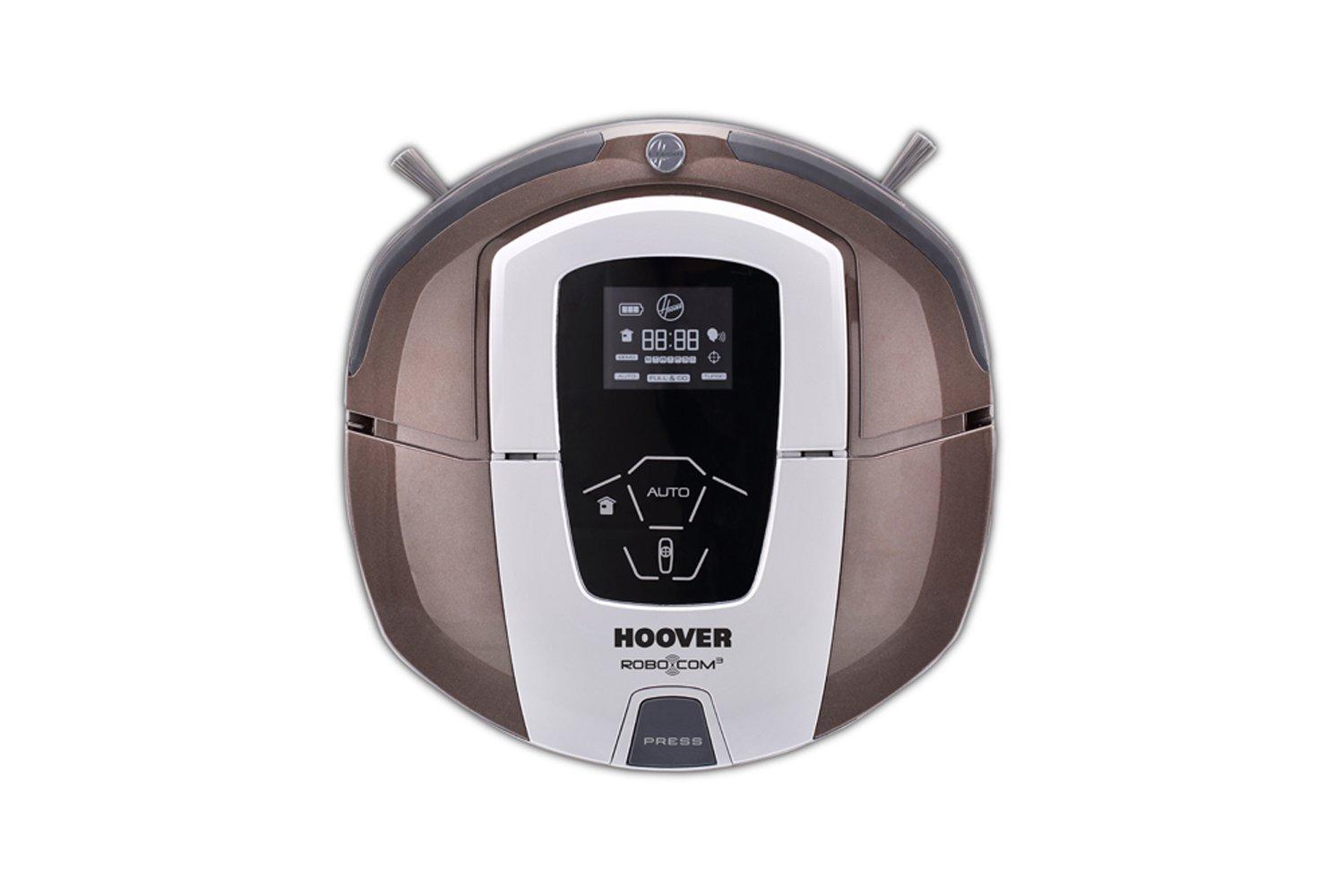 Acquisto Hoover Robo.Com3 RBC070 Robot Aspirapolvere, 0.5 Litri, 60 Decibel, Cioccolato Prezzo offerta