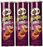 Pringles BBQ 5.96 oz (Pack of 3)