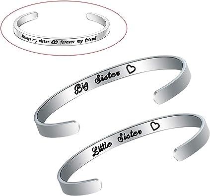 Little sister Friendship bracelet Sister bracelet Sister gift Sister bracelet Big sister Matching bracelets Sister best friend