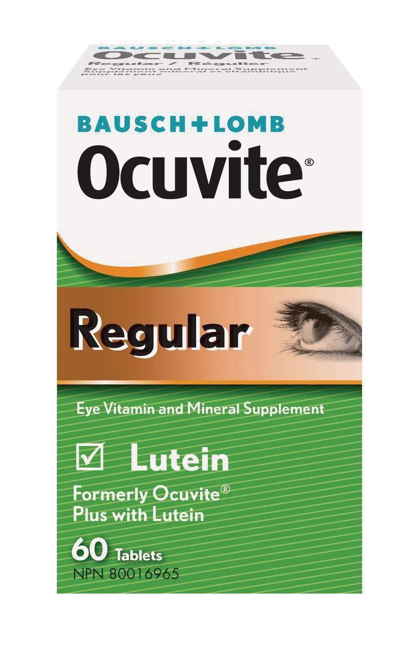 Bausch & Lomb Ocuvite Regular with Lutein